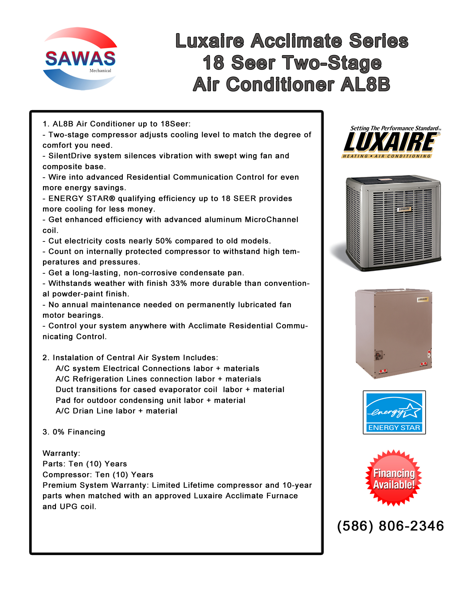 Luxaire Hvac Models Air Conditioners Wiring Diagrams Al Conditioner 1500x1941